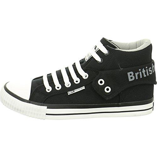 British Knights Hi-Cut Sneaker ROCO Black/Grey