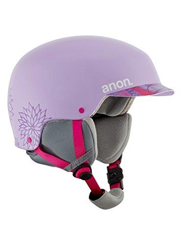 Anon Scout Casque de Snowboard Fille, Spring Purple, S