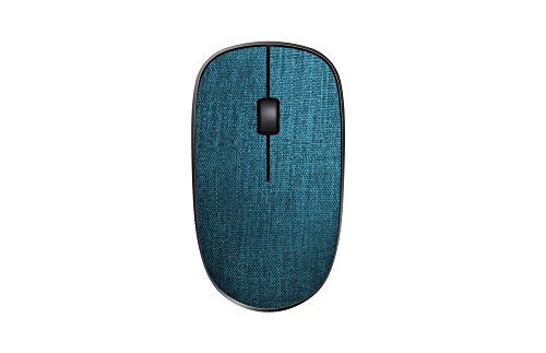 Rapoo 3510 Plus 2.4 GHz Wireless Optical Fabric Mouse Blue lowest price
