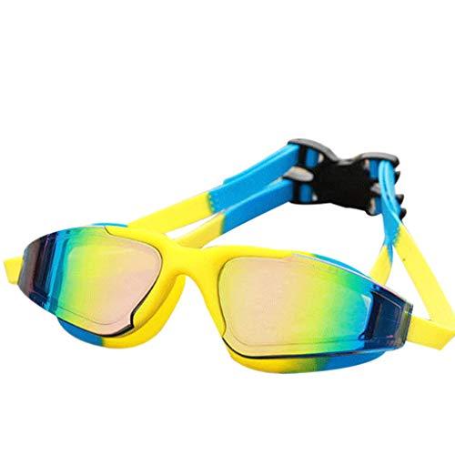 Provide The Best BOIHON Erwachsene Taucherbrillen HD Anti-Fog-Schwimmen Brillen Silikon wasserdichte Brille Frauen Männer Becken Schwimmbrille