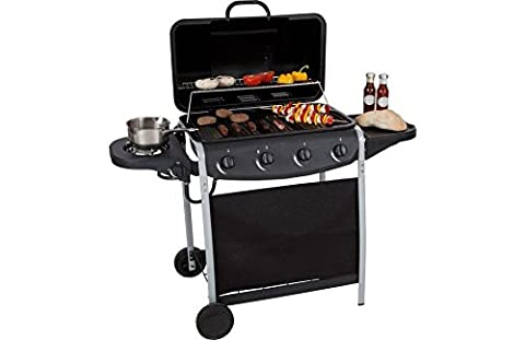 Generic dyhp-a10-code-6287-class-1–mit Seitenbrenner schwarz Kochen Grill H Sid 4Brenner oder Cook Propan Gas BBQ Gas Edelstahl Outdoor ER Prop–-nv _ 1001006287-hp10-uk