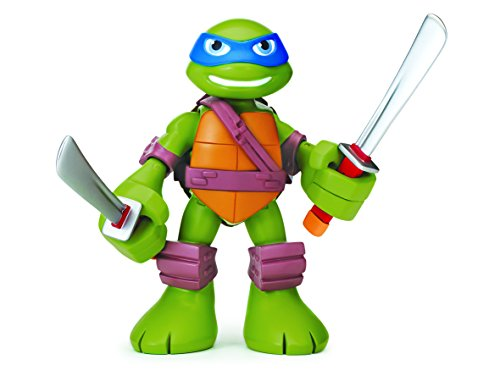 Teenage Mutant Ninja Turtles Half-Shell Heroes - Sprechende Leo Figur (Englische Sprache) (Half Shell Heroes Leo)