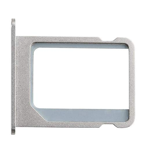 Yaoaoden 1Pcs/Lot Silver Metal Micro SIM Card Tray Holder Slot Replacement for Apple for iPhone 4 4G 4S 4th (Apple Iphone 4 Sim Card Tray)
