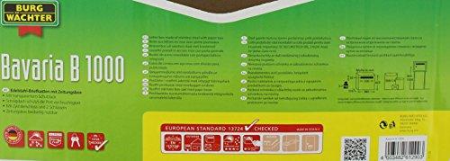 BURG-WÄCHTER, Edelstahl-Briefkasten mit aufklappbarem Regendach, A4 Einwurf-Format, Edelstahl, Bavaria B 1000 - 5