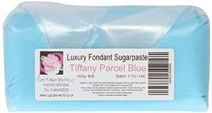 Cupcake World Fondant Sugarpaste Cake Icing Gift Parcel Tiffany Blue 500 g (Pack of 2)