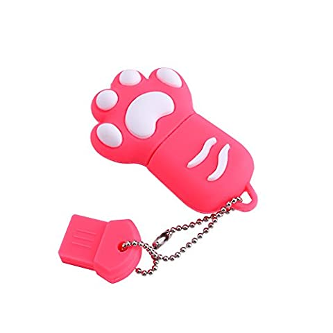 16g Linda Memory USB 2.0IN THE FORM OF CAT, Claw USB Flash Drive pink