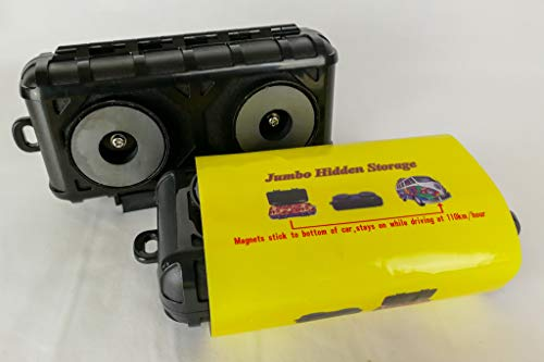Trio Lighting Jumbo, Caja de Almacenamiento Oculta magnética, para Coche, camión, Furgoneta, etc.