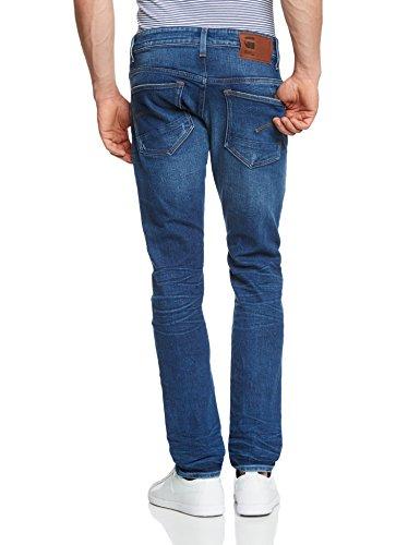 G-STAR 3301 Tapered - selekt stretch denim - Jeans - Tapered - Homme Bleu (Medium Aged 6731 071)