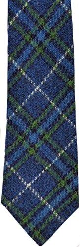 Herren Traditioneller Harris Tweed Wolle Luxus-Bindung in Auswahl Farben...