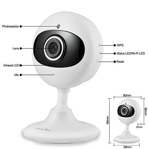 sale wansview ip kamera 720p wlan drahtlos sicherheit kamera fr baby alter haustier kinderfrau. Black Bedroom Furniture Sets. Home Design Ideas