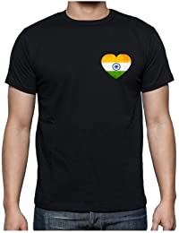 TYYC Proud To Be Indian Mens T-shirt With Back Print, Independence Day Republic Day Indian T-shirt For Men