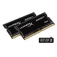 ذاكرة كينجستون بتقنية هايبر اكس امباكت 32GB Kit (2 x 16GB) HX429S17IBK2/32