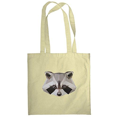 Texlab–Poly Racoon–sacchetto di stoffa Naturale