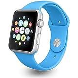EYUVAA LABEL A1 Smartwatch, (Blue)