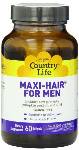 Haar-maxi (Maxi Hair : Gesundes Haar für Männer, 60 Softgels)