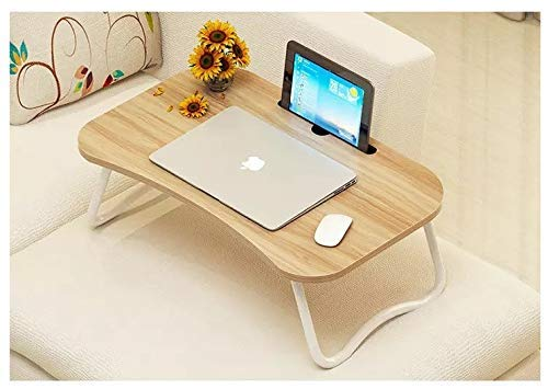 Pudini® Foldable Table for Study Laptop Lightweight Table [L 60...