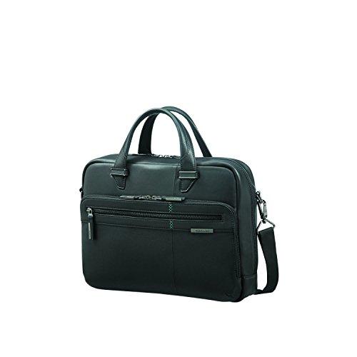"SAMSONITE Formalite LTH - Laptop Briefcase 14.1"" Ventiquattrore, 40 cm, 12 liters, Nero (Black)"