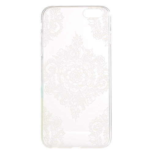 Phone case & Hülle Für iPhone 6 Plus / 6s Plus, Abstrakt Wolf Kopf Muster TPU Schutzhülle ( SKU : IP6P2347H ) IP6P2347M