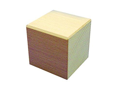 Fröbel Holzbausteine Würfel 50 x 50 x 50 mm einzeln natur