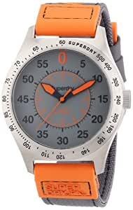 Superdry Herren-Armbanduhr XL Analog Quarz verschiedene Materialien SYG122O