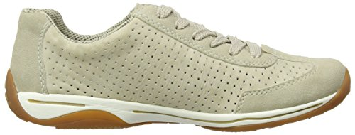 Rieker L6236 Women Low-top, Baskets Basses femme Beige - Beige (champignon/offwhite/hay/crema/elefant / 62)