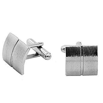 1 Paar Elegante Manschettenknöpfe Silbern Manschettenknopf für Oberhemd Krawatte Cufflinks Hochzeit Manschette, Modell:Modell 10