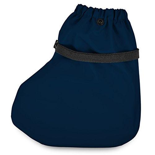 SmileBaby couvre-chaussures sur-chaussures couverture contre la pluie chaussons contre la pluie bleu marine taille M Bleu marine