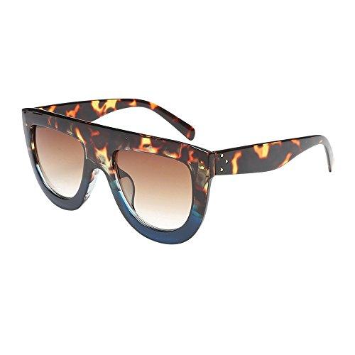 Battnot☀  Sonnenbrille für Damen Herren, Unisex Oversized Übergroße Vintage Fashion Frame Shades Acetat Rahmen UV Gläser Sonnenbrillen Männer Frauen Retro Billig Sunglasses Coole Women Eyewear