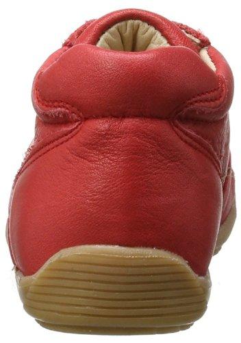 Pololo  Anton berry, Chaussures de ville à lacets pour garçon Rouge - Rot (berry 326)