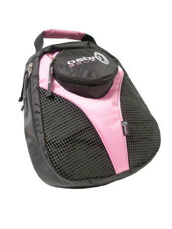 ASBRI GOLF LADIES PINK SHOE BAG.  -