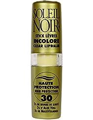 SOLEIL NOIR 25 Stick à Lèvres Incolore Ip 30 Protection Haute
