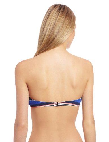 BCBGeneration Damen Bikini Almost Famous: Just perfect molded U/W bra,Gestreift Mehrfarbig (Max Red Multi)