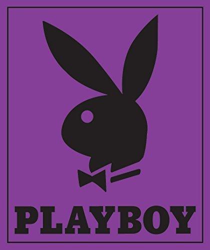 AdOneGifts Classic Lila Playboy Bunny Kopf mit Tuxedo covertures Decke/Überwurf (213,4x 238,8cm) King Size (Auch für Queen Oder Full Bett)