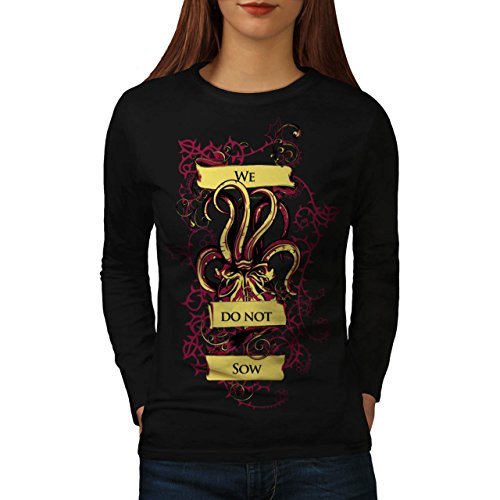 we-do-not-sow-ghost-squid-beast-women-new-black-m-long-sleeve-t-shirt-wellcoda