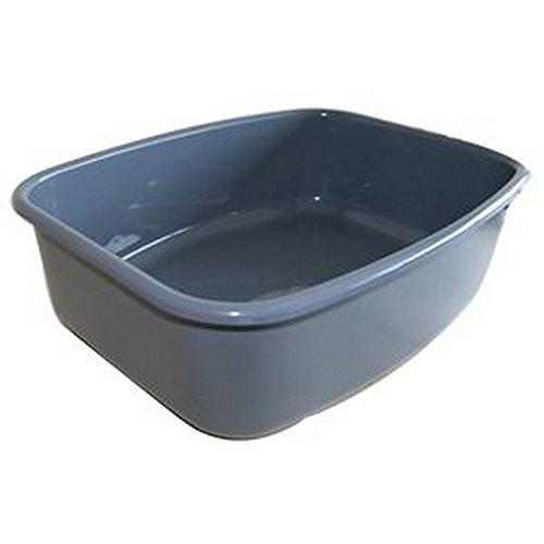 Spinflo - Balde de plástico (Talla Única/Gris)