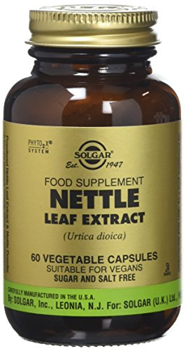 Solgar Nettle Leaf Extract Vegetable Capsules - Pack of 60 Test