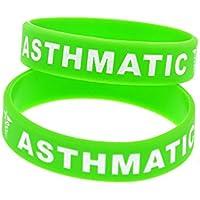 Comparador de precios North King Pulseras de Silicona con Wristbands de Goma 'asmáticas' Refranes para brazaletes de Palabras de Advertencia de motivación los niños Piezas del Set de - precios baratos