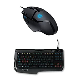 pack logitech souris gaming g402 hyperion fury clavier gaming m canique g410 atlas spectrum. Black Bedroom Furniture Sets. Home Design Ideas