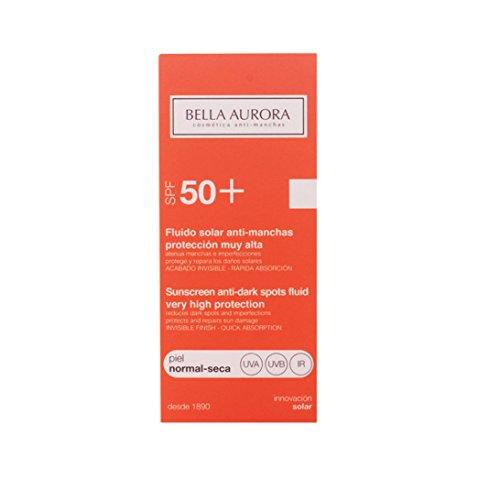Bella Aurora, Fluido Solar anti-manchas piel normal-seca. SPF50+ -50ml