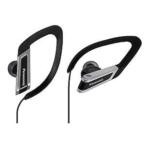 Panasonic RP-HS200E-K Earhook WaterResistant Sports Headphone (Black)