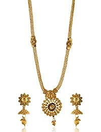 Reeti Fashions - Traditional Round Motif Necklace Set For Women (RF17_10B_96)