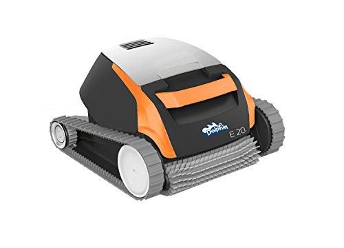 Maytronics 500968 - Dolphin Robot Limpiafondos Eléctrico,Negro, gris y naranja
