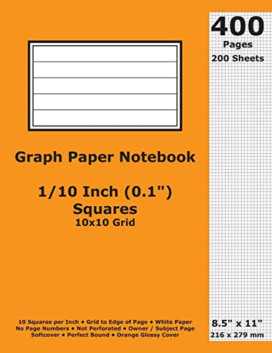 Cactus Kostüm - Graph Paper Notebook: 0.1 Inch (1/10 in) Squares; 8.5