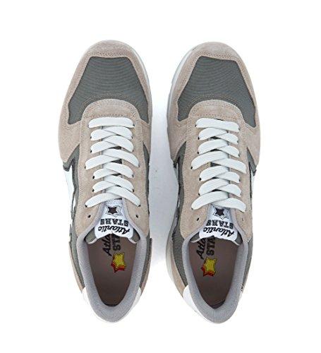 Atlantic Stars Sneaker Antares in Suede Beige e Tessuto Grigio Beige Venta Caliente De La Venta Footlocker Finishline En Línea Venta Barata Mejor La Venta De Bienes B9QHsK
