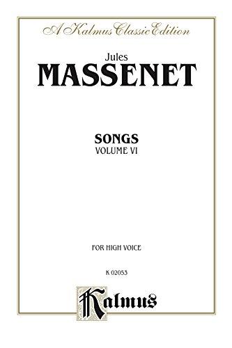 Songs, Volume VI: For High Voice