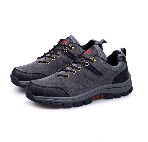 Z&HX sportsScarpe da trekking all'aperto scarpe da trekking antiscivolo scarpe primavera e smorzamento scarpe hors route gray
