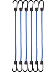 AmazonBasics Bungee Cords | 15.7 Inches, 6-Pack