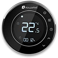 Termostato Wifi, Houzetek Termostato Inteligente Programable con Sensor para Teléfono Control de APP Termostato Inteligente