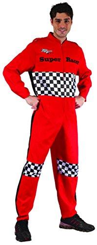 ür Herren M (Rennfahrer Kostüm)