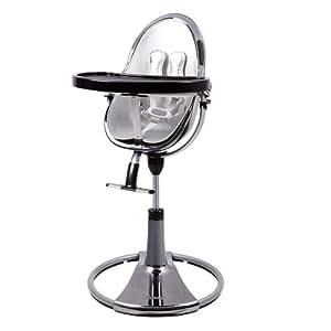 bloom assise pour chaise fresco en simili cuir argent b b s pu riculture. Black Bedroom Furniture Sets. Home Design Ideas